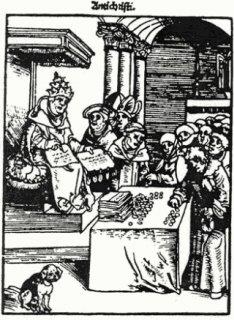 Secte, religion ... Chap. N° 3 - Les Indulgences Rel-Pape-vendant-des-Indulgences
