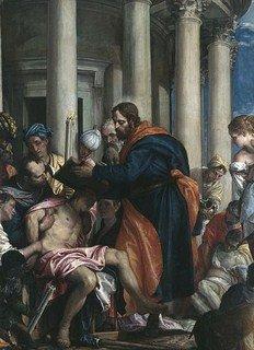 Acceptation des ... Chap. N° 7 - Joseph surnommé Barnabé dit Justus rel-barnabe-soignant-les-pauvres-paolo-veronese.