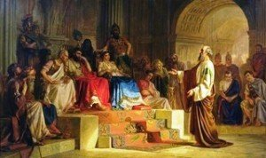 Rel-Paul-Saül de Tarce devant César