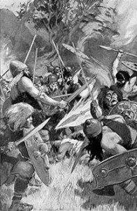 Celte-Lugh au combat par Millar