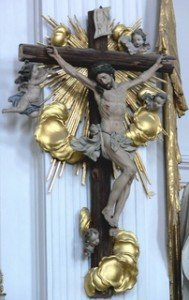 Rel-Crucifix-Marienmünster Dießen Kruzifix