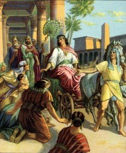Joseph Made Ruler in Egypt Genesis 41:41-43