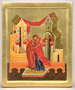 Rel-Joachim et Anne-fresque Moyen-Âge