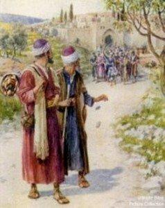 Rel-Paul et Barnabé à Antioche de Syrie