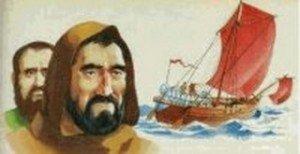 Rel-Paul et Barnabé en bateau