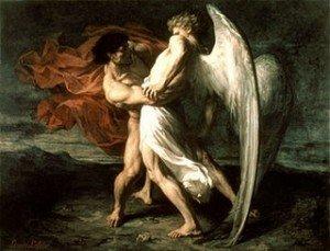 Jacob combat contre un Ange (Copier)