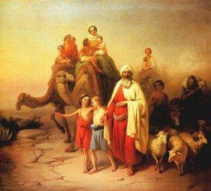 Abraham et sa famille