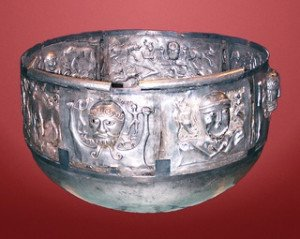 Celte-Gundestrupkarret coupe des Druides