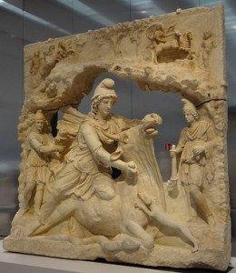 Rel-Dieu-Mithra sacrifiant le Taureau-368