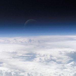 Atmosphère terrestre vue depuis l'espace