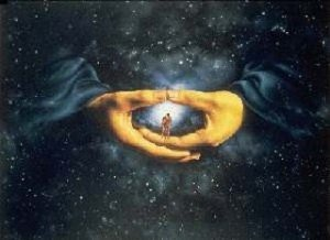 Rel-El-Shaddaï, l'Homme dans ses mains ...