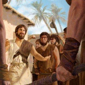 Antedil-Hénoch enseigne les humains mauvais
