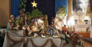 Crèche de Noël, église de la Visitation (Copier)