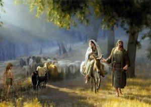 Jésus-Joseph & Marie vers Jérusalem (Copier)