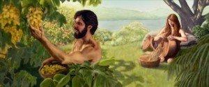 Adam et Ève-Occupation dans le Paradis