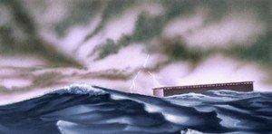 Noah-a, deluge la caisse flotte