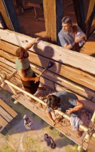 Noah- les humains au labeur