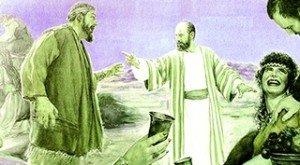 Antedil-les semblables d'Hénoch, discution houleude
