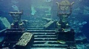 Myst-Yonagu, vestiges sous la mer