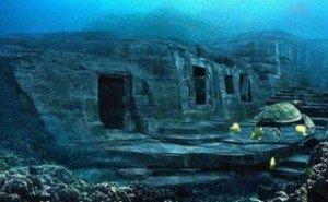 Myst-Yonaguni sous l'eau-une ville