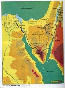 Exode-carte, le trajet  (400)