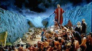 Exode-la Pâque-hébreu au passage de la Mer Rouge