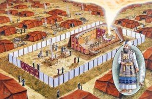 Exode-la Pâque- Tente et nuée au camp (400)