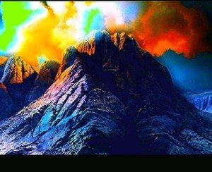 Montagnes-Sinaï-présence du très Haut