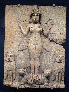 Rel-Déesse Ishtar, Astarté, Tinar - fécondité, semaille, guerre