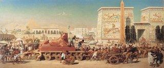 Exode-ecvlavage des israélien-1867 Edward Poynter