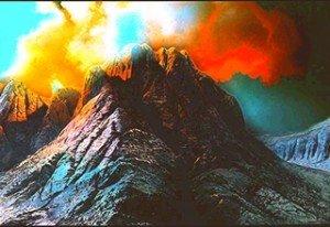 Montagnes du Sinaï- Il est là !