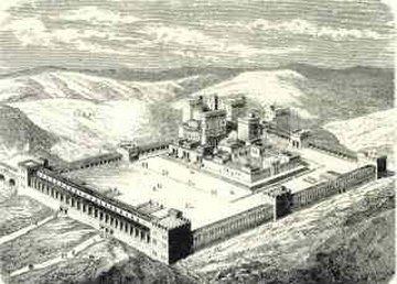 Temple de Jérusalem Parvis des Gentils