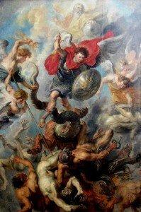 Ange Gabriel chasse les Anges déchus