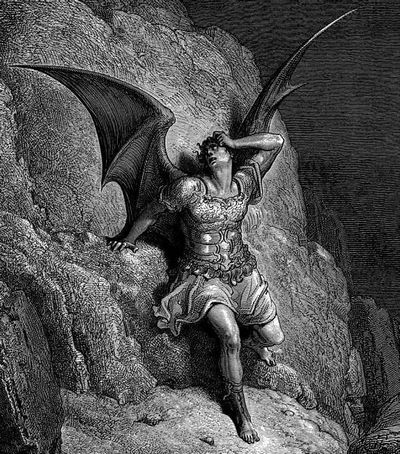 Ange-Sammaël par Gustave Doré