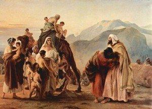 Genese 33 - le depart de Jacob et Esau a Succoth
