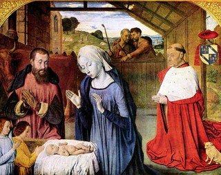 Rel-Marie - Naissance de Marie la mère de Jésus - Meister von Moulins