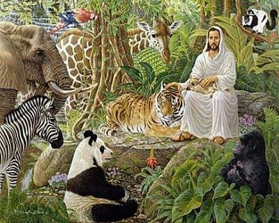Adam donne un nom aux animaux