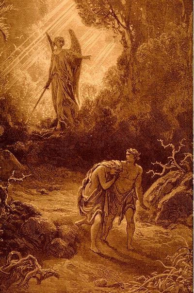 Adam & Eve chassés du Paradis