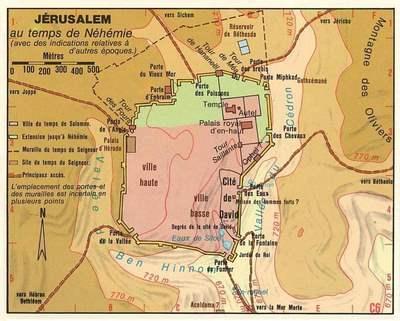 Jers-Carte-Jerusalem Nehemie