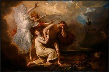 Adam et Ève-Chassés du Paradis