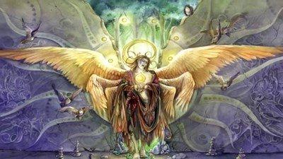 Ange-premier créé Sammaël ou Lucifer