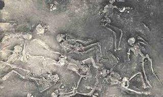 Antedil-squelette humain
