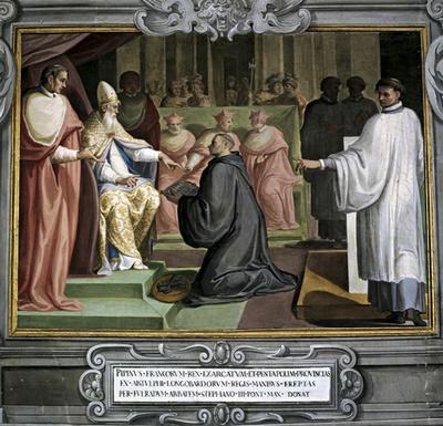 Eglis-Donation des Etats de Pépin le Bref à Étienne II Évêque de Rome