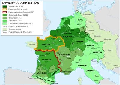Eglis-Empire Carolingien