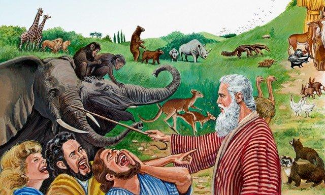 Noah-Choisit les couples d'animaux