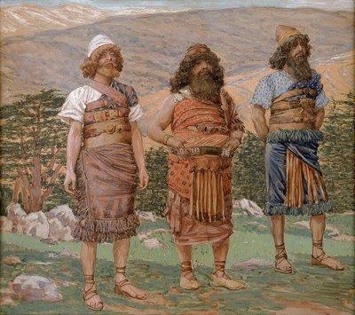 Noah-fils, Shem, Ham et Japheth (Copier)