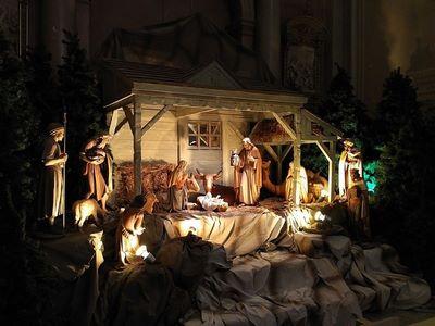 Crèche-Basilique-cathédrale Marie-Reine-du-Monde_de_Montréal (Copier)