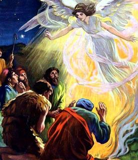 Jésus-Annonce de l'Ange aux bergers