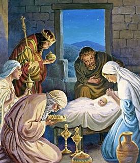 Jésus-Naissance du Sauveur des humains