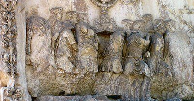 Hist-Bibl-Juifs-emmenes-esclavage-Romainsle-Temple-Arc-Titus-Rome-Gunnar-Bach-Pedersen-Creative-Commons_0_445_232